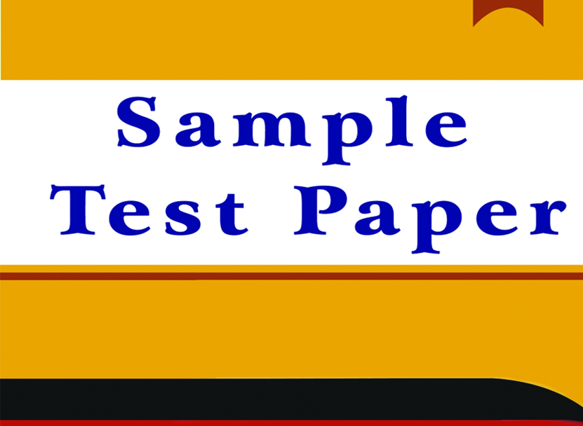 Sample Test Papers
